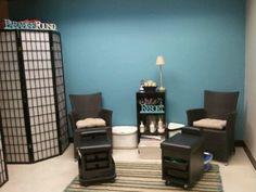 Our new pedi room :)