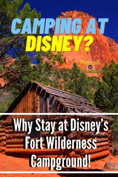 Yeah, you read that right. Walt Disney World does have a campground! And it's honestly one of our most favorite places to stay in all of Walt Disney World. In this post, we're going to tell you all about camping at Disney's Fort Wilderness Campground, why it's so awesome, and we'll give you some tips to help you plan your stay. Road Trip Planner, Adventures By Disney, Travel Checklist, Disney Tips, Travel Couple, Trip Planning, Wilderness, Camping, Campsite