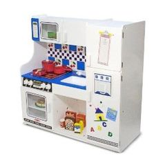A very nice kids toy kitchen