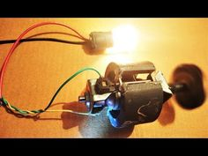 Universal Motor From Mixer As Free Energy Dc Generator Diy