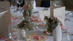 Tischdeko Hochzeit, Blütezeit
