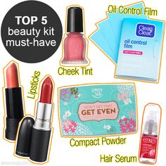 5 Things You Must Always Have in Your Beauty Kit