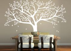 Tree Wall Decal Family Tree Wall Sticker Vinyl By ArtHomeDecals, $85.00
