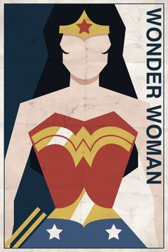 Vintage Wonder woman would love this somewhere!