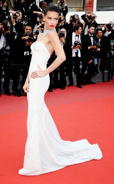 1e356fe433 Adriana Lima from Cannes 2017  Best Dressed Stars