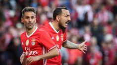 Jonas e Mitroglou, SL Benfica