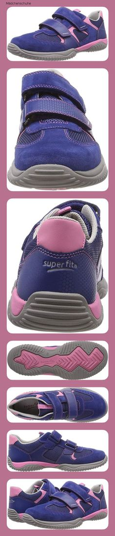 Superfit Tensy Mädchen Sneaker, Blau (Water 87), 25 EU