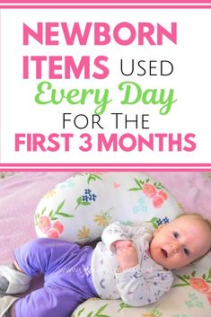 Newborn items needed for the first three months Newborn essentials checklist that's needed for the first three months with a baby. All the must haves to care for a baby with tips that will help a firs Baby Registry List, Baby Registry Must Haves, Baby Registry Items, Newborn Baby Tips, Newborn Needs, Newborn Care, Caring For Newborn Baby, Newborn Babies, The Babys