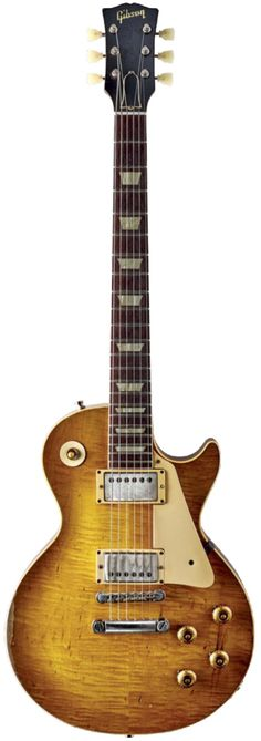 "Bernie Marsden's 1959 Gibson Les Paul Standard - ""The Beast"""