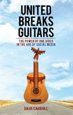 Frustrated With United Airlines' Customer Service, Dave Carroll Makes Viral YouTube Video United Breaks Guitars. Great gift idea for dad.