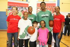 """Volunteers from the Celtics and Harvard Pilgrim Health Care came out to support the Holland Elementary School. On """"Let's Get Moving Day"""" the Celtics hosted clinics for students volunteers transformed the school's outdoor space.  Photos by James Daigl Specializing in Start-Up of Personal Care Homes, Adult Day Programs, Non-Medical Personal Care & Medicaid Waiver Programs. - http://www.nbhsllc.com"""