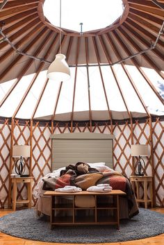 yurt living | Flickr - Photo Sharing!
