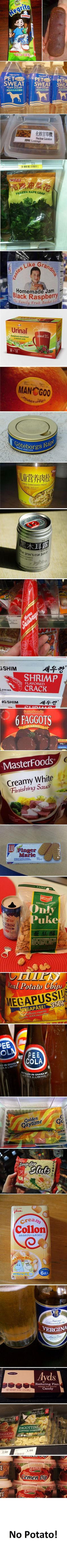 25 poorly named foreign food.