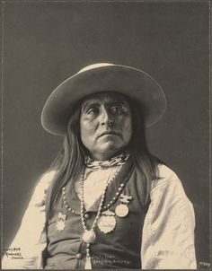 "Josh, Chief. SAN CARLOS APACHES. Portraits from the ""Indian Congress of 1898"" in…"