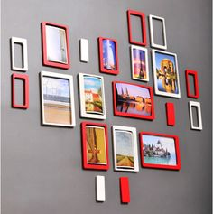 3D Photo Frame & 3D Oblong Wall Decor For Home Decorative