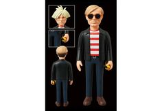 Andy Warhol Vinyl Collectible Dolls by Medicom Toy