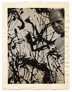 Jackson Pollock, paints what my mind feels like.