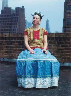 Frida Kahlo. NY 1946.