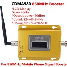 70dB LCD display function 980 CDMA 800mhz high gain CDMA 850Mhz mobile phone signal booster,GSM signal repeater cdma amplifier #Affiliate