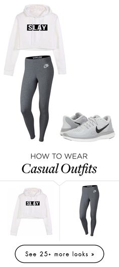 """""""Casual"""" by kauaioceangirl on Polyvore featuring NIKE"""