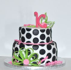 Chevron Cake Tutorial Special Cakes And Decorating Ideastips - Monogram birthday cakes