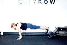 Bet you've never heard of an inverted push up. http://www.thecoveteur.com/rowing-workout-cityrow/