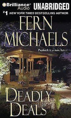 Sisterhood: Deadly Deals 16 by Fern Michaels (2010, CD, Unabridged) Audio Book