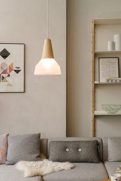 LundLund Minimalist Scandinavian Wooden Pendant Light – Tudo And Co Deco Luminaire, Minimalist Scandinavian, Modern Minimalist, Deco Design, Salon Design, Interiores Design, Lighting Design, Lighting System, Home And Living