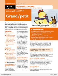 Juste un petit bout (7) / Grand/Petit
