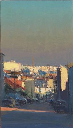 Andrew Gifford Montreuil Towards the Chimney - Study