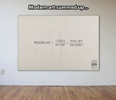 Explaining modern art // funny pictures - funny photos - funny images - funny pics - funny quotes - #lol #humor #funnypictures