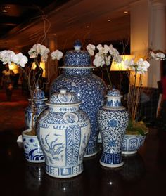 Blue and White Chinese Pottery