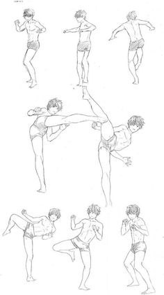 Learn To Draw Manga - Drawing On Demand Body Reference Drawing, Animation Reference, Body Drawing, Drawing Reference Poses, Drawing Poses, Drawing Sketches, Art Drawings, Drawing Tips, Character Drawing