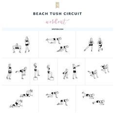 Build a firm, perky booty in just 29 minutes with today's beach ready tush workout!    http://www.spotebi.com/workout-routines/10-butt-exercises-beach-ready-tush/ @spotebi #SpotebiBBC #Workout #WorkoutOfTheDay #Fitness #Healthy #Happy #Fit