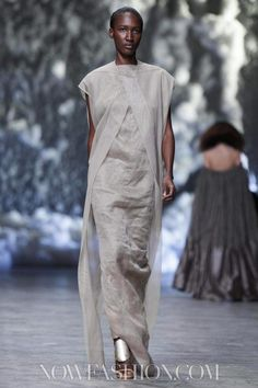 Rick Owens Ready To Wear Spring Summer 2013 Paris