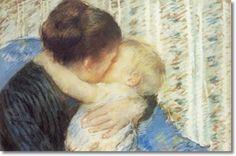 Mary Cassatt Mary Cassatt, Pablo Neruda, Claude Monet, Edgar Degas, Manet, Renoir, Illustrations, Rembrandt, Mothers Love