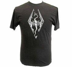 The Elder Scrolls V Skyrim Inspired T Shirt