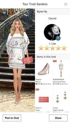 "Look by Carolina Cordeiro for Tour Tivoli Gardens 5 stars Covet Fashion ---------------------------------------------------- Look por Carolina Cordeiro para evento ""Tour Tivoli Gardens"" 5 Estrelas Covet Fashion"