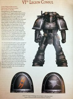 Let's go back over 30 years when the mighty Space Marines had police to keep them in line - and maybe still do. Warhammer 40k Space Wolves, Warhammer Art, Warhammer 40000, Legion Characters, Chaos Legion, Thousand Sons, Marine Colors, The Horus Heresy, Sci Fi Armor