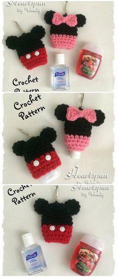 Beginner Crochet Projects, Crochet For Beginners, Crochet Hooks, Free Crochet, Diy Sanitisers, Knitting Patterns, Crochet Patterns, Hand Sanitizer Holder, Crochet Octopus
