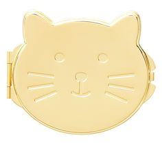 Discover the perfect accessory to pop in your bag for those times when you need a mirror on the go. This Compact Mirror is such an adorable little gift for any cat lover.