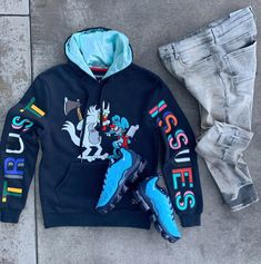 Dope Outfits For Guys, Swag Outfits Men, Stylish Mens Outfits, Sport Outfits, Tomboy Fashion, Men's Fashion, Street Fashion, Letterman Jacket Outfit, Hype Clothing