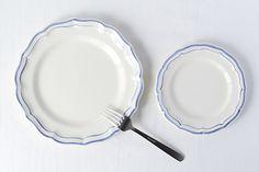 ジアン/フィレブルー/B&Bプレート(径16.5cm) - 北欧雑貨と北欧食器の通販サイト  北欧、暮らしの道具店