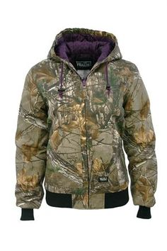 Women's Insulated Realtree Camo Jacket #hunting #cowgirl #countrygirl