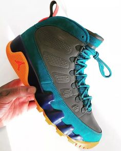 An Upcoming Colorful Air Jordan 9 Boot for the Winter Season 99fde3138c