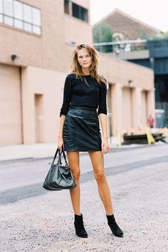 #fashion-ivabellini Vanessa Jackman: New York Fashion Week SS 2013....Irina