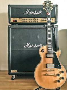 74 Gibson Les Paul Custom & Marshall JCM 2000