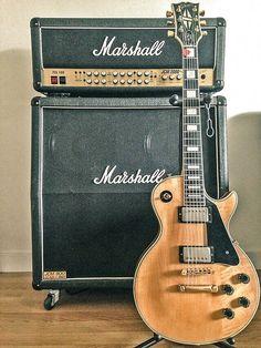 74 Gibson Les Paul Custom & Marshall JCM 2000