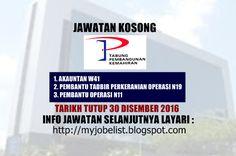 Jawatan Kosong Perbadanan Tabung Pembangunan Kemahiran (PTPK) - 30 Disember 2016  Jawatan kosong kerajaan terkini di Perbadanan Tabung Pembangunan Kemahiran (PTPK) Disember 2016 | Jawatan kosong terkini di Perbadanan Tabung Pembangunan Kemahiran (PTPK) Disember 2016. Permohonan adalah dipelawa daripada waganegara Malaysia yang berkelayakan untuk mengisi kekosongan jawatan kosong terkini di Perbadanan Tabung Pembangunan Kemahiran (PTPK) sebagai :1. AKAUNTAN W412. PEMBANTU TADBIR PERKERANIAN…
