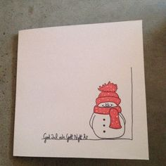 xmas Christmas card / christmascard Black is still in for the Winter of 2006 Black is back and bigge Christmas Cards Drawing, Painted Christmas Cards, Chrismas Cards, Christmas Cards 2018, Christmas Card Crafts, Xmas Cards, Christmas Art, Handmade Christmas, Homemade Birthday Cards